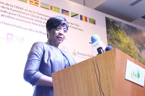 SEM Arlette SOUDAN NONAULT, ministre du Tourisme et de l'Environnement du Congo