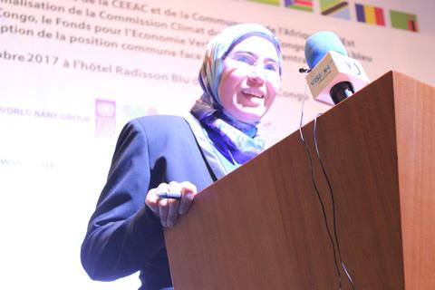 SEM Nezha EL OUAFI, Secrétaire d'Etat chargée du Développement Durable du Royaume du Maroc