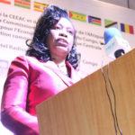 SEM Marie Chantal MFOULA, Secrétaire Générale Adjointe de la CEEAC