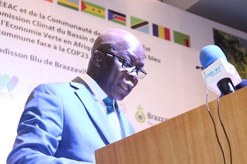 Monsieur Guy ZOUNGUERE SOKAMBI, vice président de la Banque de Développement des Etats de l'Afrique Centrale (BDEAC),